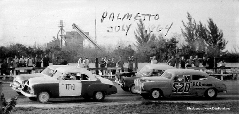 1964 - Racing at Palmetto Speedway