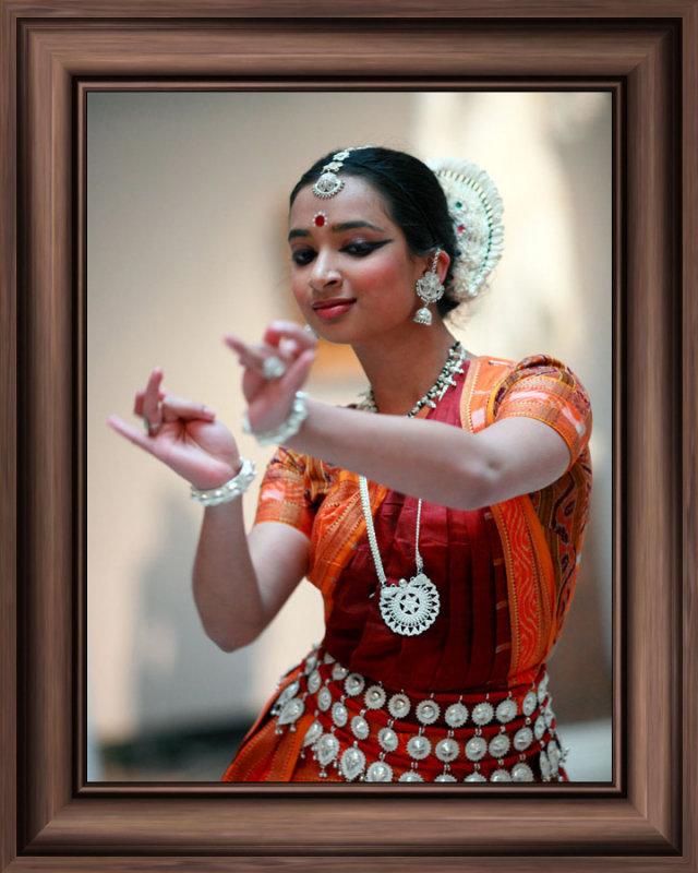 Classic Indian Odissi dance originated in 300 B.C.