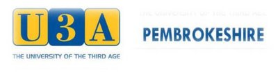 Pembrokeshire U3A Forum