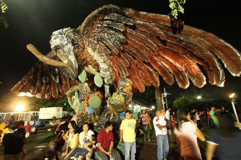 Pasko Fiesta Scenes in Davao