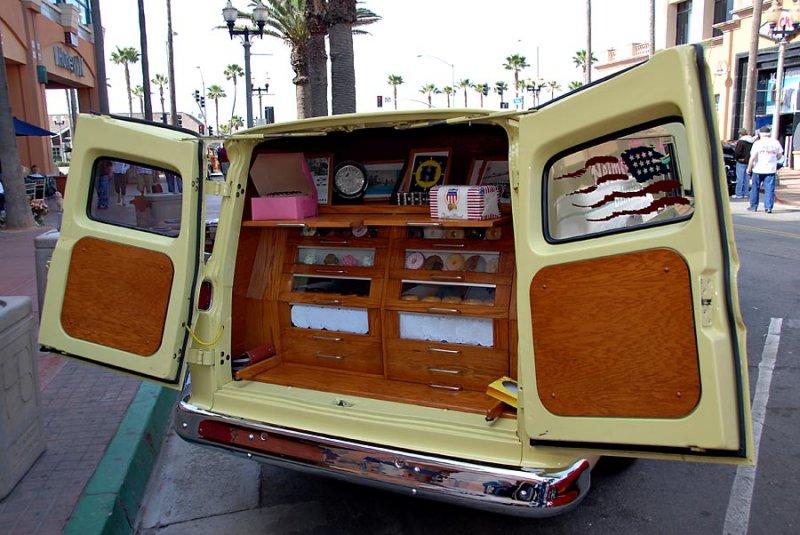 Helms truck (door to door donut delivery in the 60s)