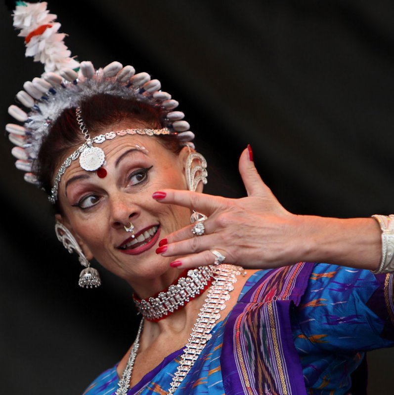 Classical Indian Odissi Dance
