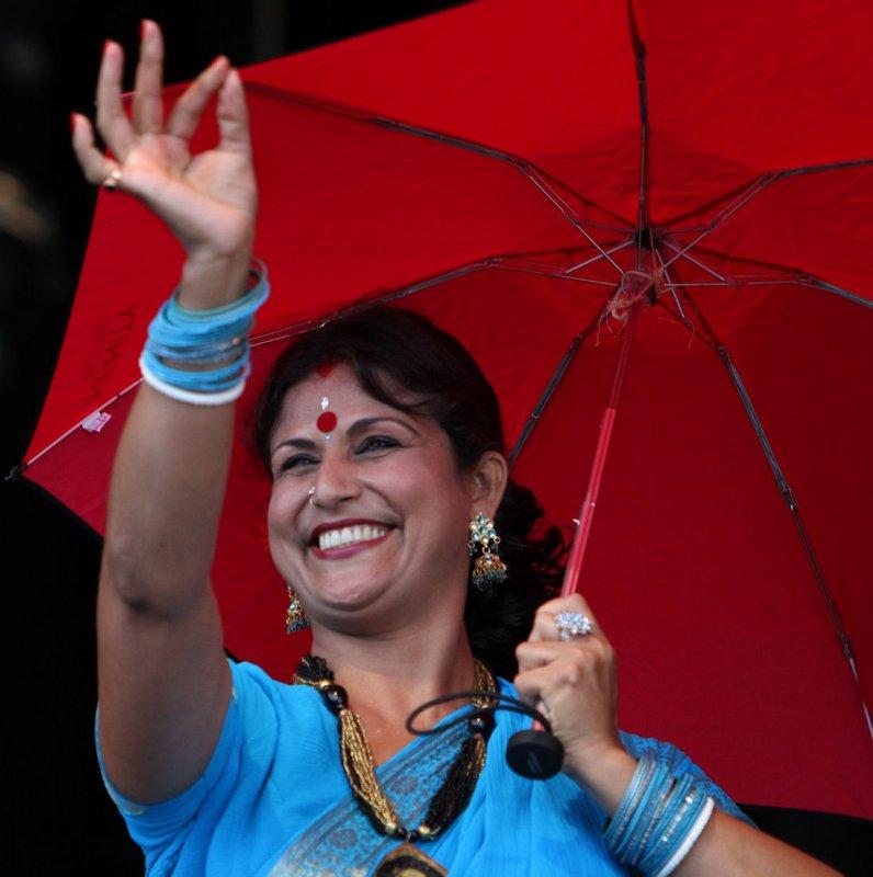 Umbrella dance / Kerala / India