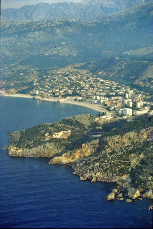 Saranda bay, Albania, 1992