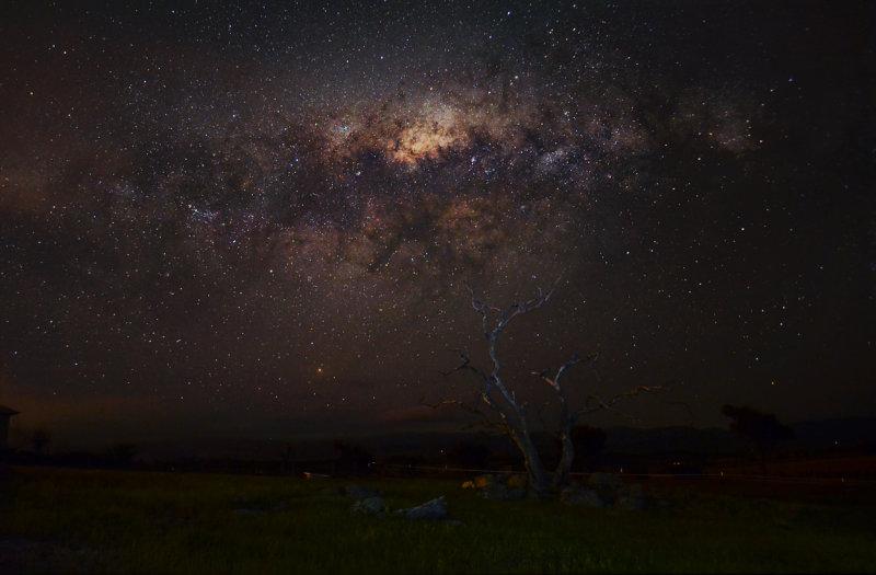 The Milky Way over Wallaroo