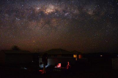 Imaging under the Milky Way tonight