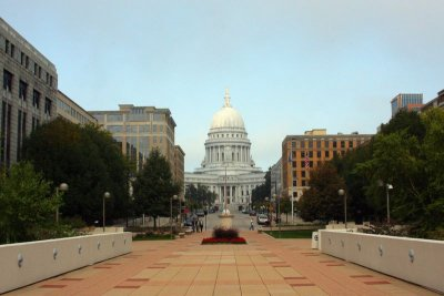 Martin Luther King Jr road from Monona to the State Capitol