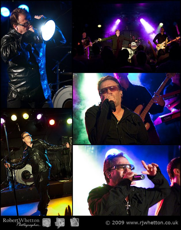 U2 Tribute play at Mr Kyps