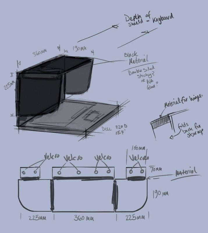 Laptop Hood