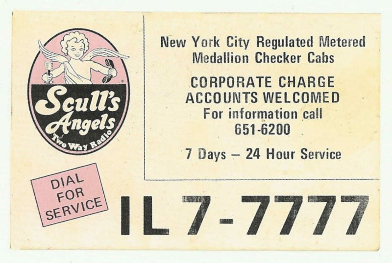 Sculls Angels Business Card