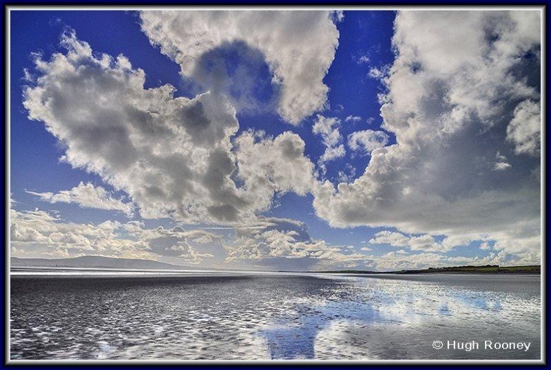 Ireland - Co.Sligo - Dramatic skies on Lissadell Beach