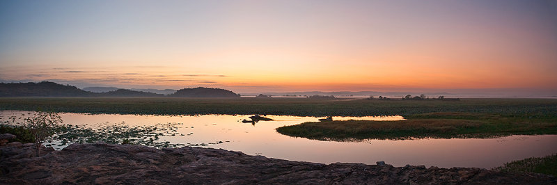 East Alligator River at Dawn Panorama