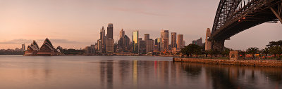 Sydney at First Light