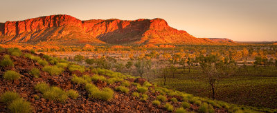 Bungle Bungle range in the setting sun