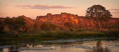 Hawk Dreaming Glowing Rock Sunset