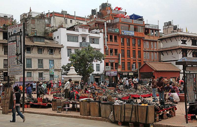 Market place for tourists