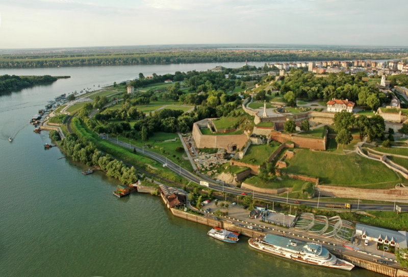 Kalemegdan from baloon
