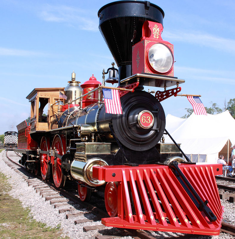 Central Pacific 63, the Leviathan. The newest steam locomotive in the United States