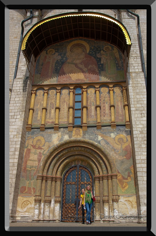 Cathedral of the Assumption, The Kremlin. Moscow.