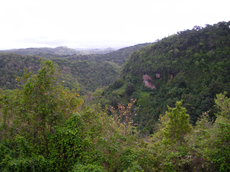 St. Lucia is very mountainous