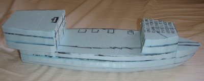 Another attempt at a pirate ship... Medium