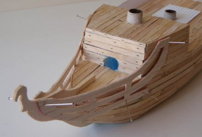 ship - Another attempt at a pirate ship... Medium