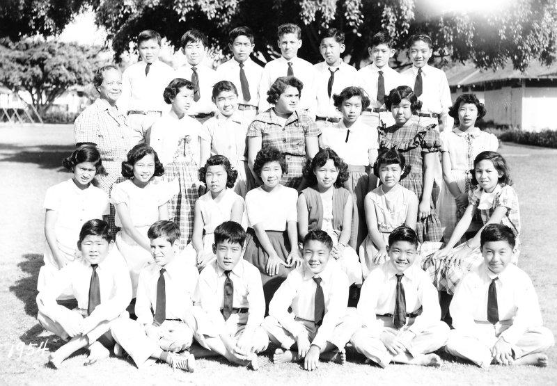 6th Grade Waikiki Elementary: courtesy C. Otani