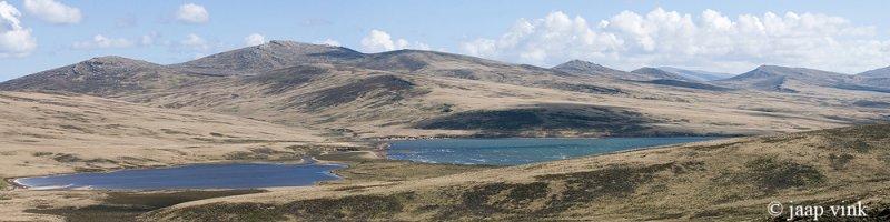 Landscape north of Port Howard, West Falkland