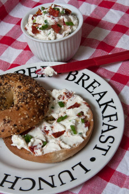 Everything Bagels with a Schmear