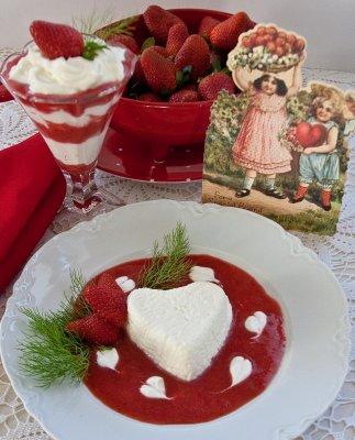 White Chocolate Coeur à la Crème
