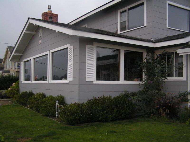 House front, landscape more mature now