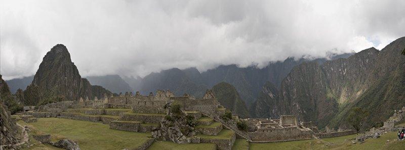 Machu Picchu, panorama