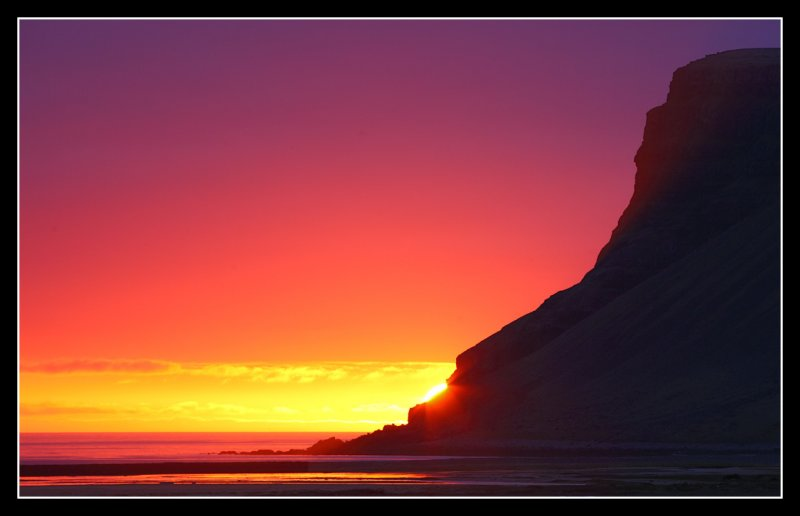 Just another sunset at Latrabjarg Iceland