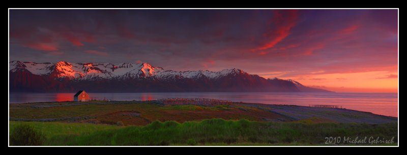 Husavik Fjord - Northern Iceland