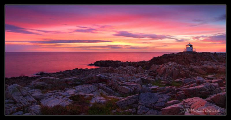 Sunset at Kullaberg