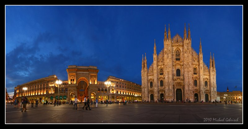 The Cathedral and Galleria, Milan