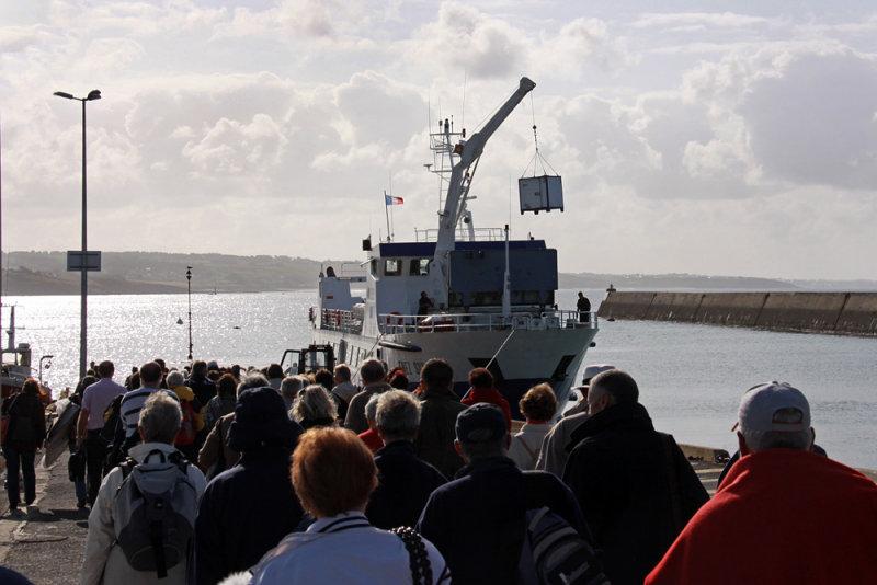 Audierne ferry dock