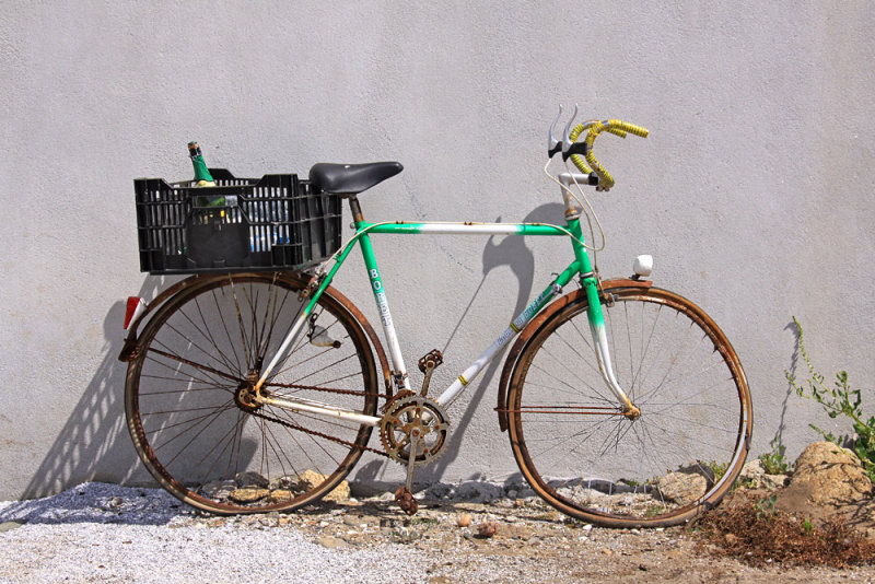Forgotten bicycle