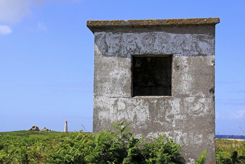 Concrete shack