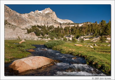 Lee Vining Creek, 20 Lakes Basin