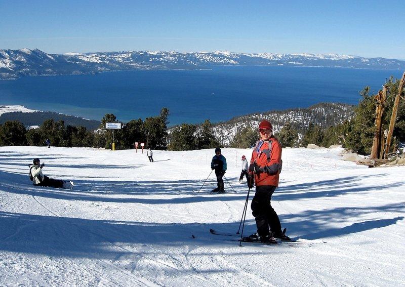 Skiing at Heavenly Tahoe