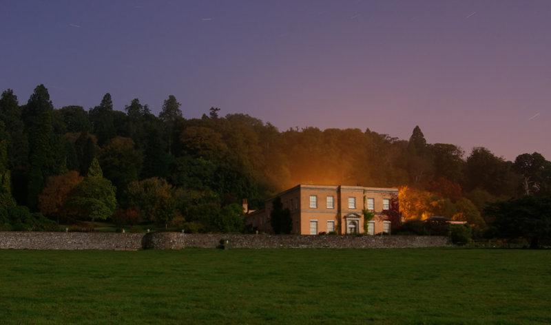 Killerton in moonlight