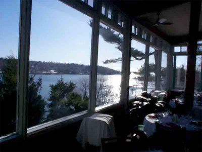Northwest Arm from dining room