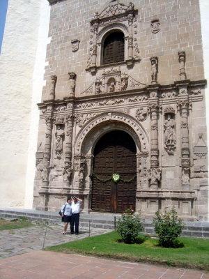Portada de la Parroquia de San Agustin