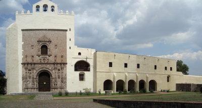 Ex-convento de Acolman (panorámica)