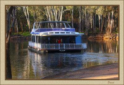 Houseboat on Murray River