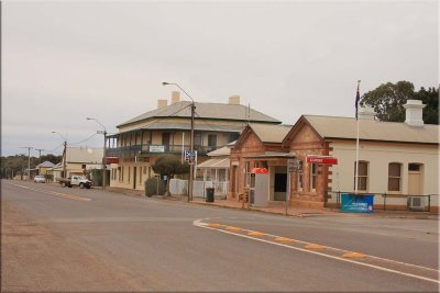 The outback township of Quorn - 2010