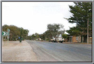 Main Street of Bute