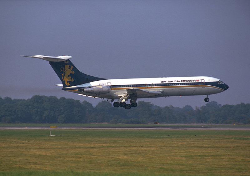 British Caledonian VC10<br> G-ASIX