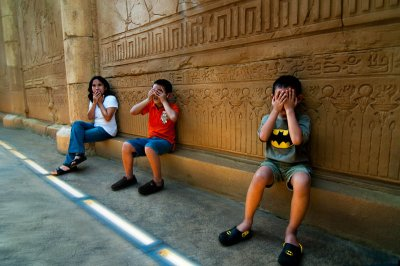 The Three Wise Monkeys - Almost